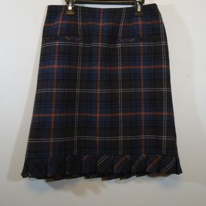 Cabi size 6 wool blend skirt euc